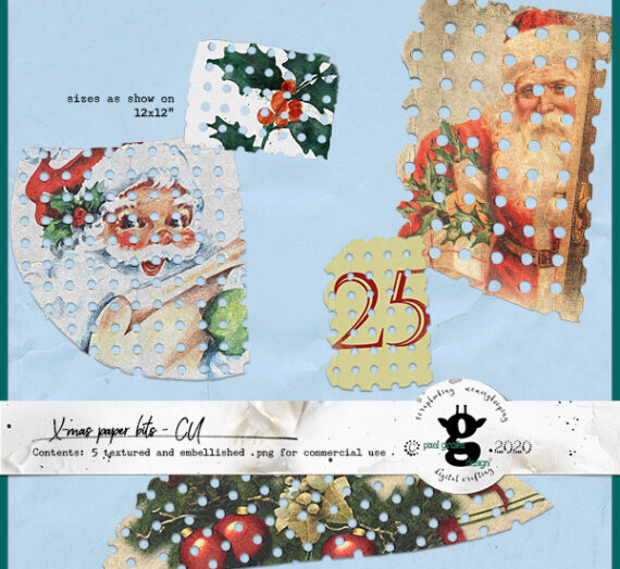 3 new X-mas kits for CU!